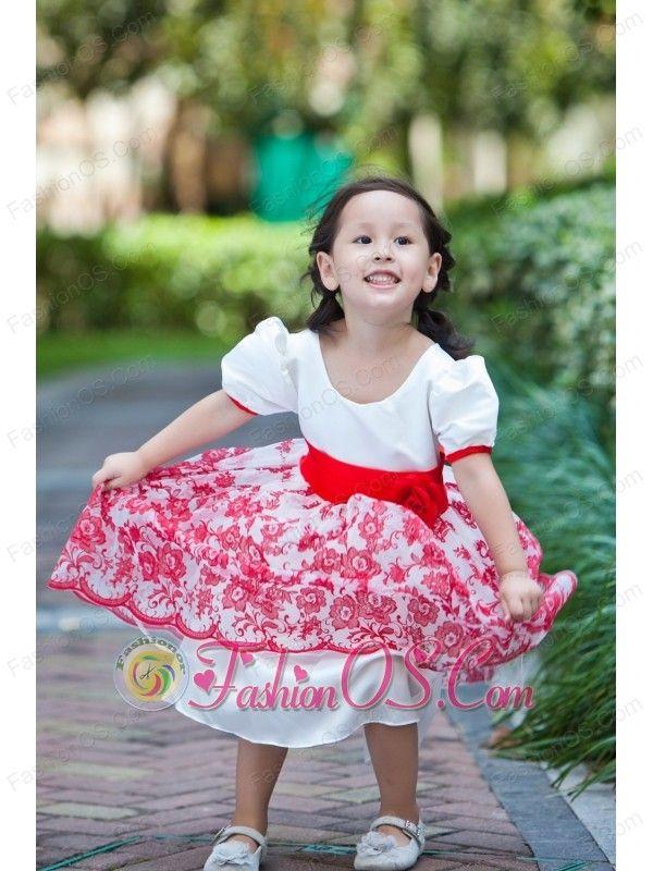 10 best Graceful Knee-length 2013 Flower Girl Dress images on ...