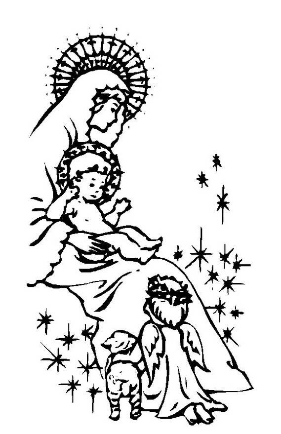 glorious mystery coloring pages - photo#20