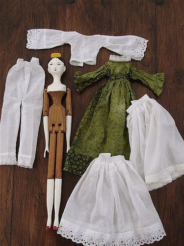 McCall's 1800 Wooden Peg Doll | Flickr - Photo Sharing!