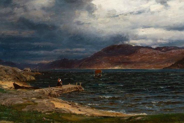 Amaldus Clarin Nielsen, gust of wind