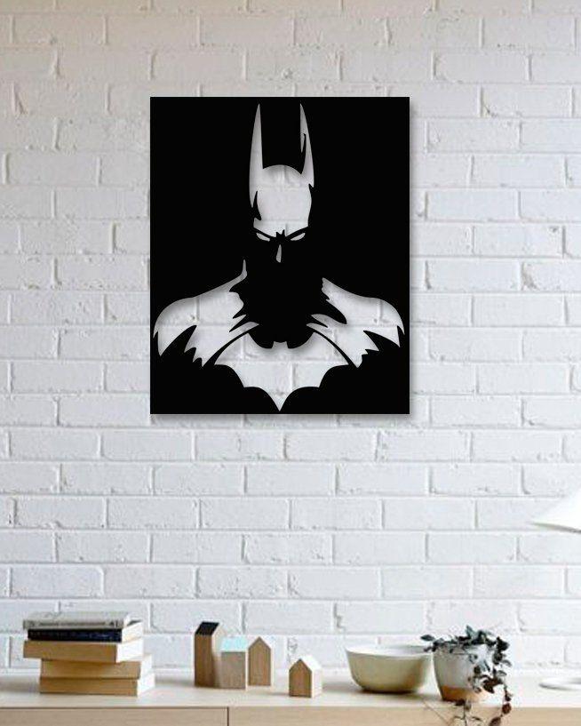 Batman Movies Metal Wall Art, Batman Begins Metal Poster
