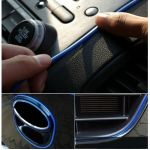 DIY Car Interior Decoration MOULDING Trim Decorative Strip Blue