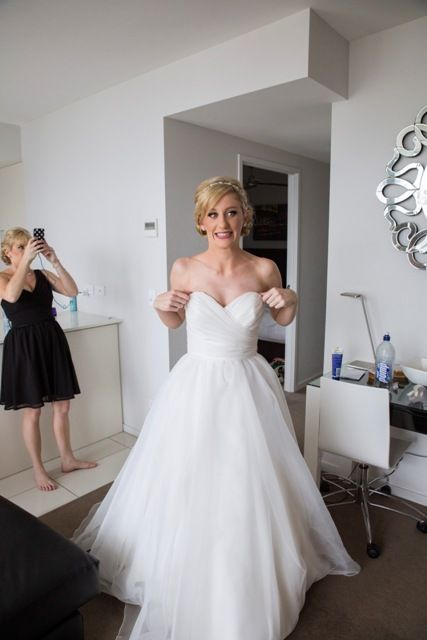 Pop Wedding Dress.Carol And Jonathan S Fun Colour Pop Brisbane Wedding Dreamy