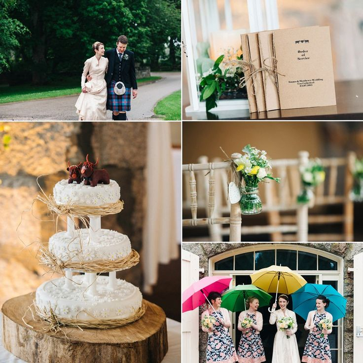 Decor and details from a Rainy Day Humanist Wedding At Coo Cathedral. Photography by http://www.donnamurrayphotography.com/