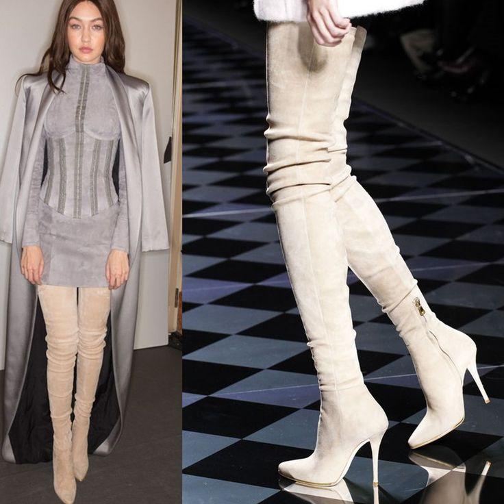 Stretch Thigh High Boots   #shoulderbag #affordablebag #fashionbag #nosepiercingbag #stylishbag