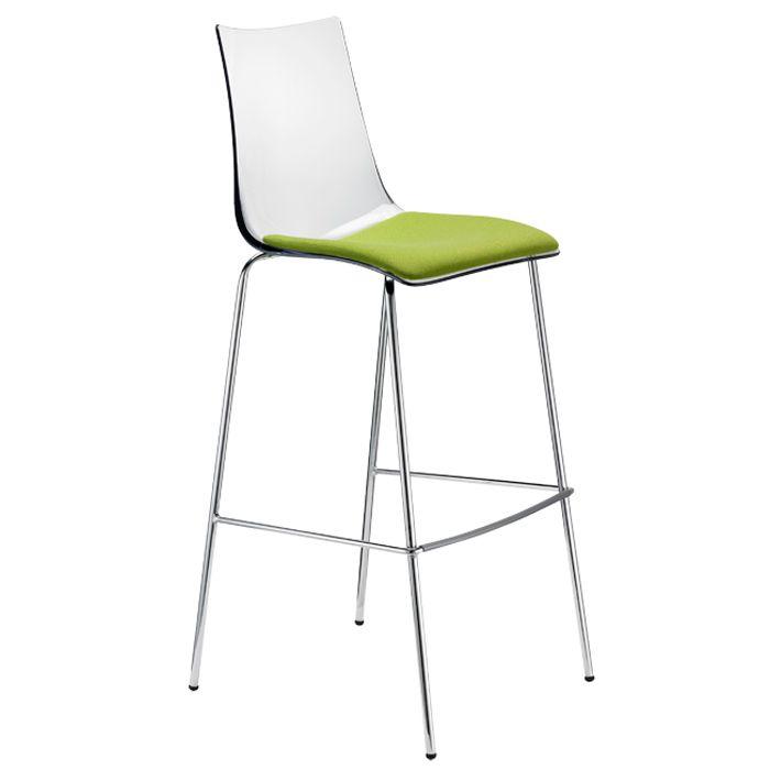 Zebra Antishock stool with cushion - SCAB Design