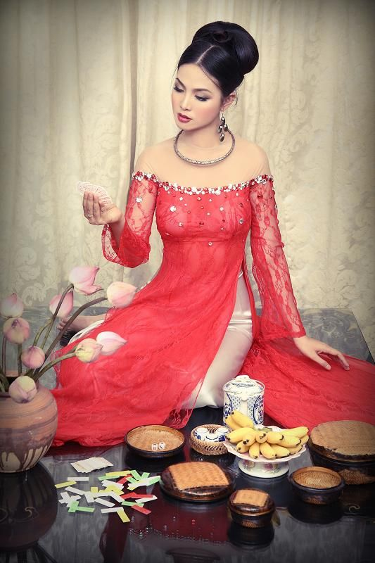 17 best images about ao dai on pinterest gold wedding dresses wedding and ladies long dresses. Black Bedroom Furniture Sets. Home Design Ideas