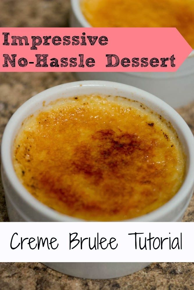 THE RUSTIC REDHEAD: Creme Brulee Tutorial