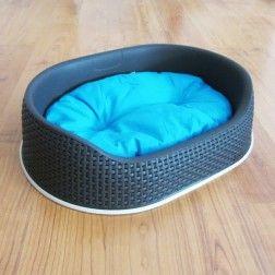 Cama para Perro TodoGuau Siesta Gris Azul S