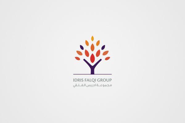 set of corporate identities (Arabic + English) by Khawar Bilal, via Behance: