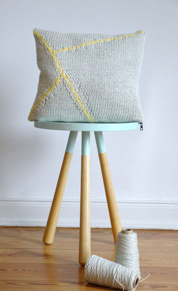 Geometric Cushion Knitting Pattern : 40 best Lounge Ideas images on Pinterest Home, Home decor and Spaces