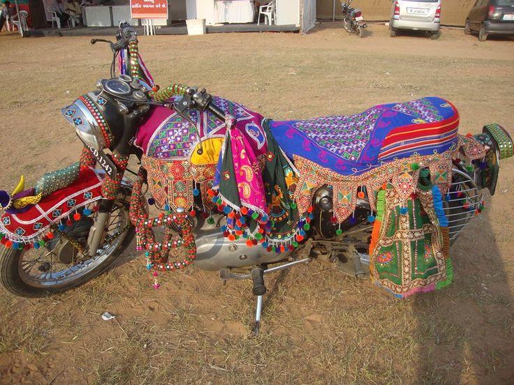 Gujarati Traditional Bike Wear at Tarnetar Fair 2013 by Ankit Parmar