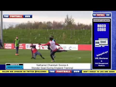 Nathaniel Chalobah Scores A Wonder Goal During England Training!