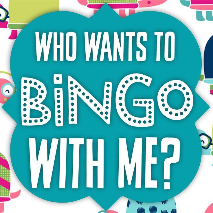 Let's play Bingo! Thirty-One style bingo card