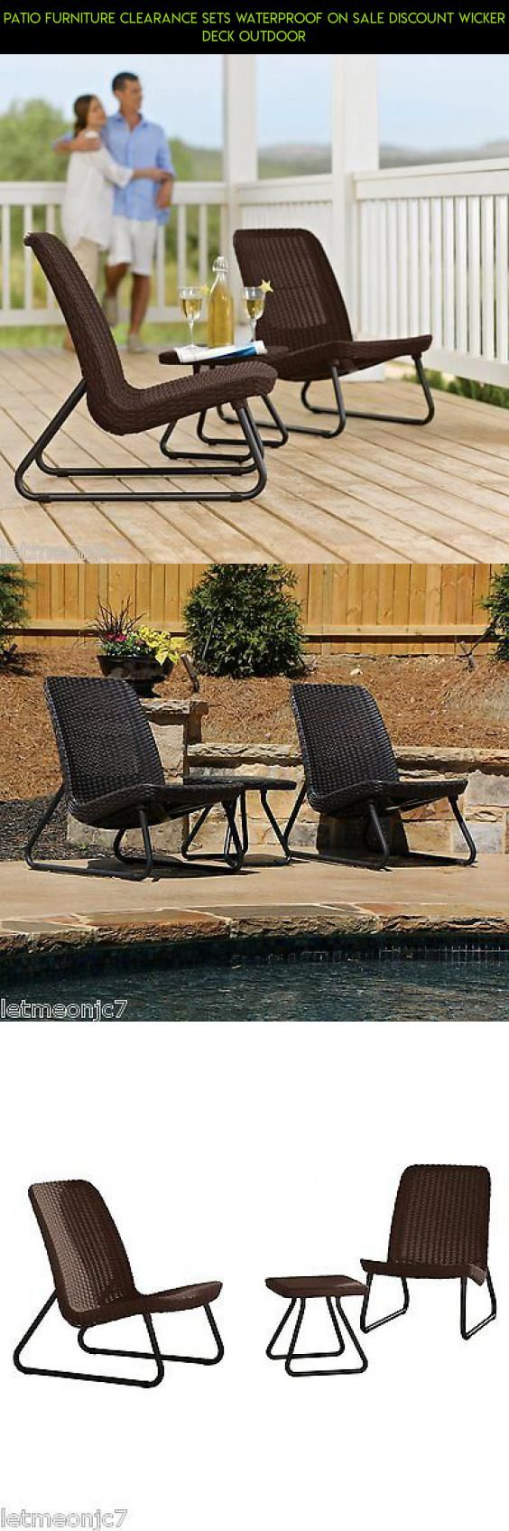 Patio Furniture Clearance Sets Waterproof On Sale Discount Wicker Deck Outdoor #furniture #plans #patio #products #tech #racing #gadgets #camera #on #fpv #technology #parts #shopping #kit #drone