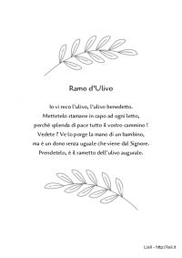 Poesia - Ramo d'Ulivo