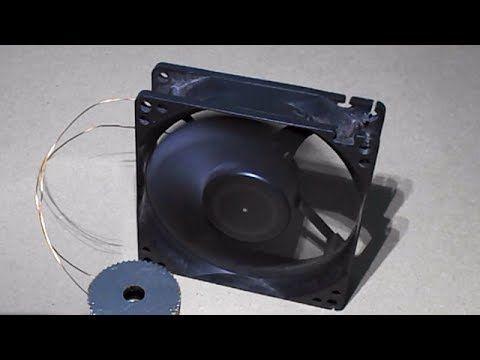 Homemade mini generator free energy generator free energy for Free energy magnet motor fan
