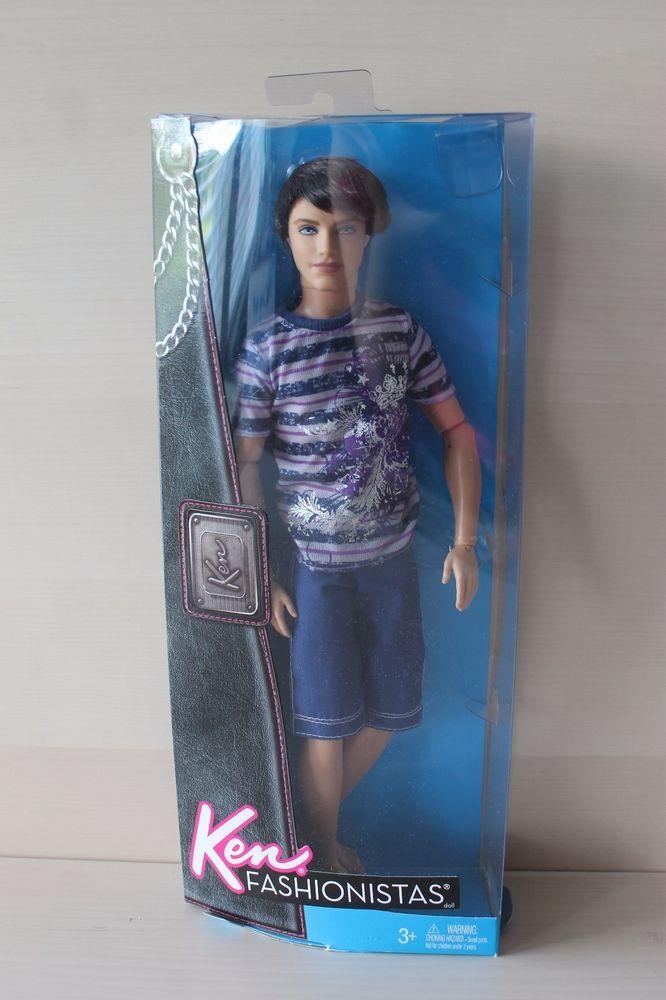 addadb91db4c5 Ken Fashionistas RYAN Doll Articulated Jointed Poseable 2011 Mattel  Mattel   DollswithClothingAccessories