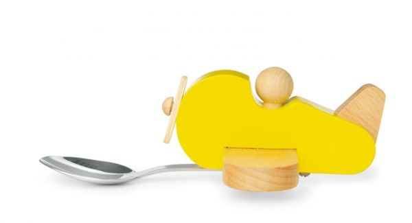 It's a bird! It's an aeroplane! It's a boat! It's the cutest kids spoon ever from Donkey Products!!