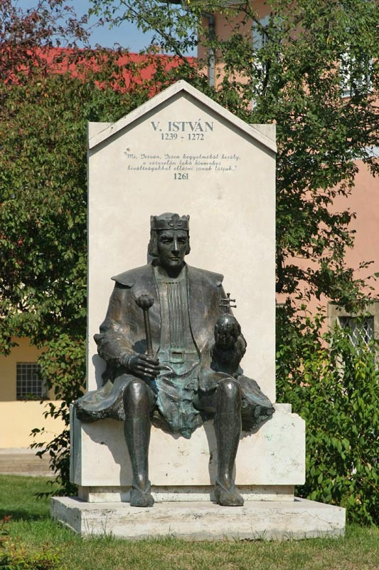 V. István, Árpád-házi magyar király (uralkodása: 1270–1272 IV. Béla fia)