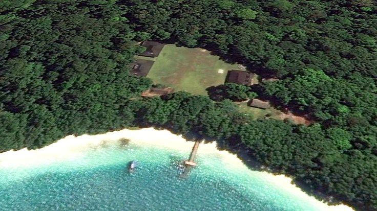 Paradise in Banten, Pandeglang. Peucang Island.
