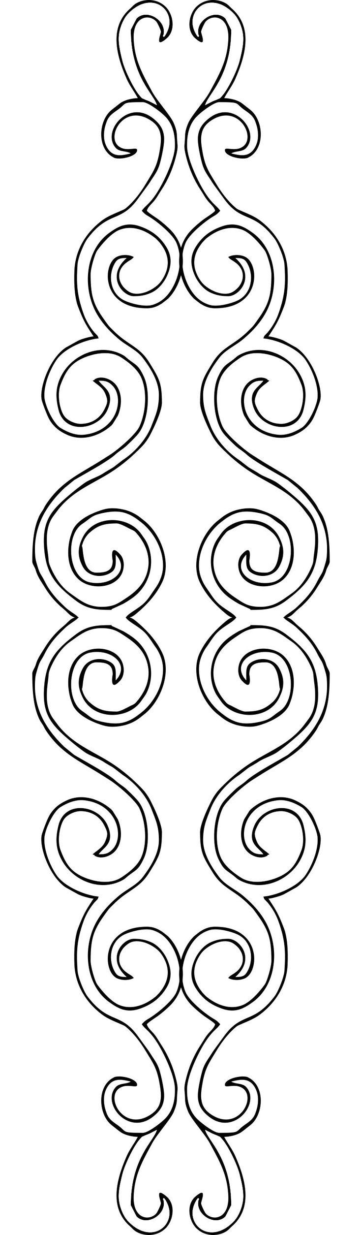motivo rectangular