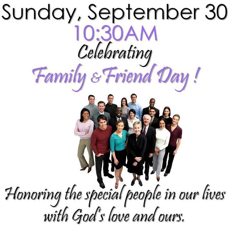 New Life Community Church Family and Friends Day |Themes For Family And Friends