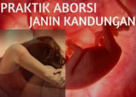 praktik aborsi janin kandungan