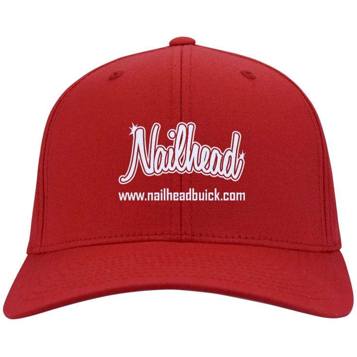 Nailhead Flex Fit Twill Baseball Cap