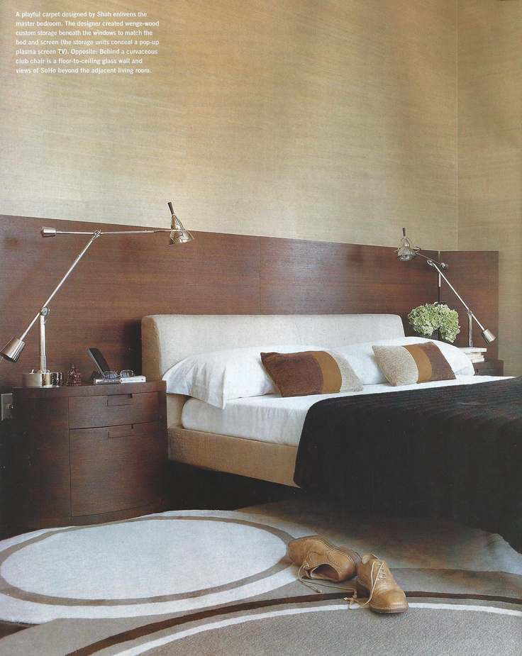 headboard idea for floating the bed