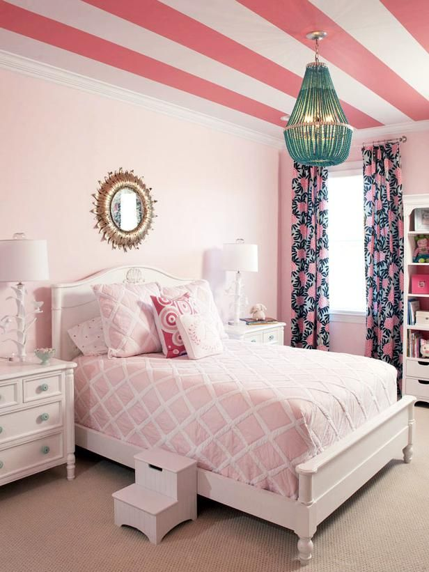 21 Awesome Pink Girl Bedroom Ideas 71