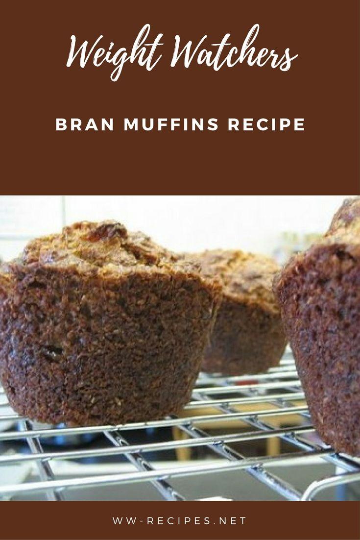 Weight Watchers bran muffins recipe
