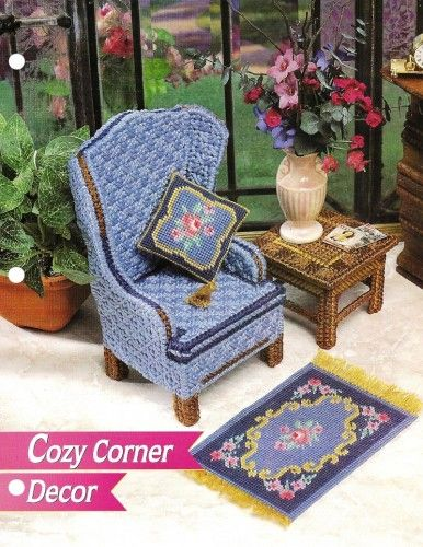 Diy Barbie Furniture With Plastic Canvas Over 100 Free