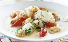 Fina fiskgrytan - snabb   Servera med ris eller potatis