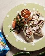 Życie od Kuchni, odc. 6. Tortilla z warzywami, kurczakiem, szpinakiem i białym serem