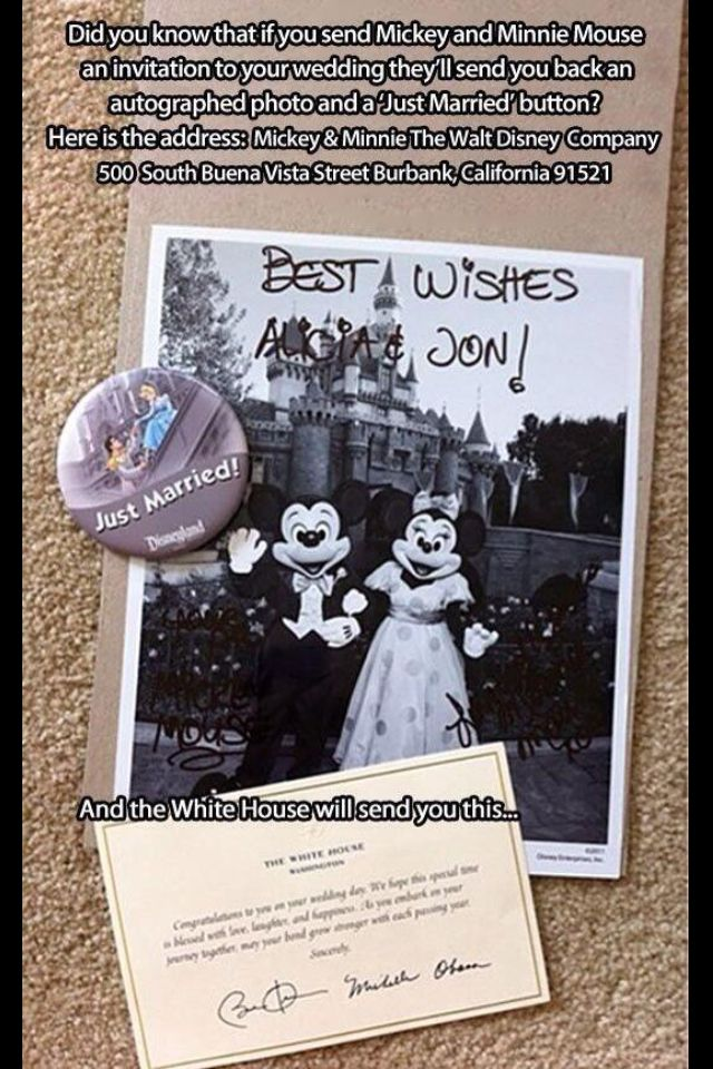 Disney wedding invitation life hacks