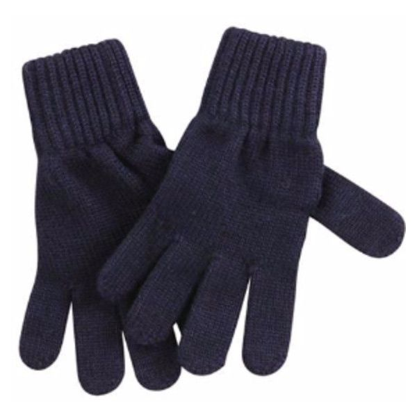 Navy Blue Gloves (£35) ❤ liked on Polyvore featuring accessories, gloves, navy blue gloves and navy gloves