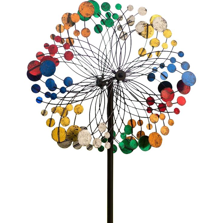 Bubbles Wind Spinner by Plow & Hearth.. So pretty in your yard!! <3