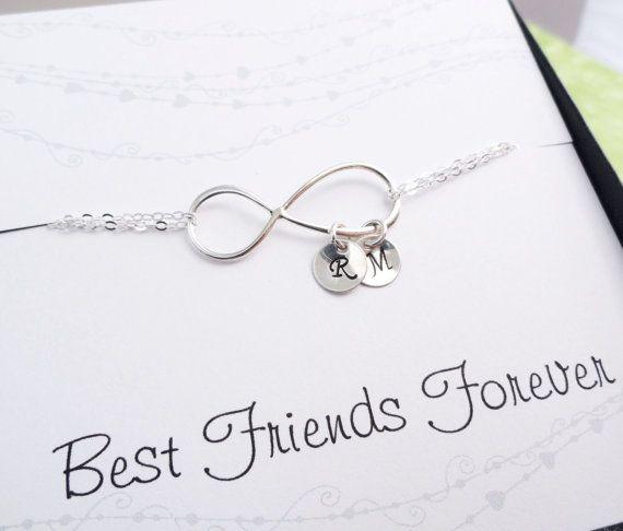 best friends bracelet personalized infinity bracelet