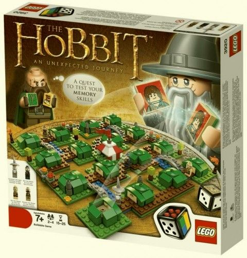 Lego Hobbit Board Game