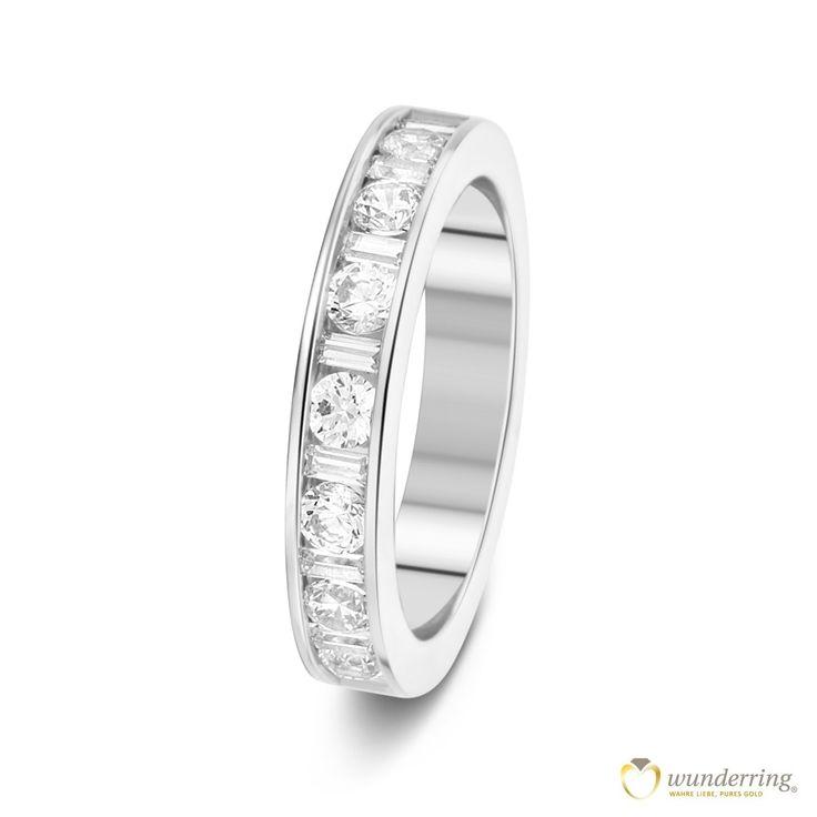 Ausgefallene diamantringe  24 besten Diamantringe Bilder auf Pinterest | Eheringe, Trauring ...