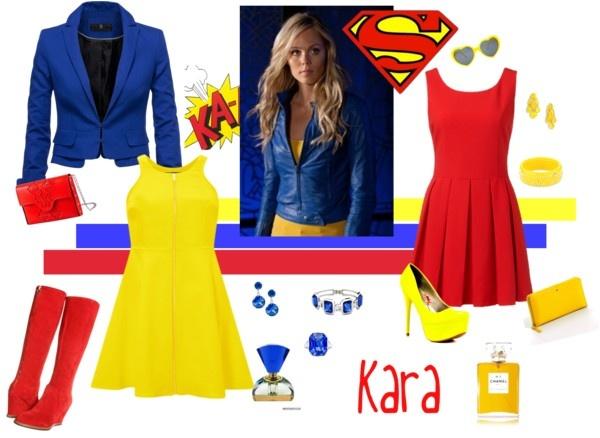 """Smallville - Kara"" by pam-kyle-mcglaughlin on Polyvore"