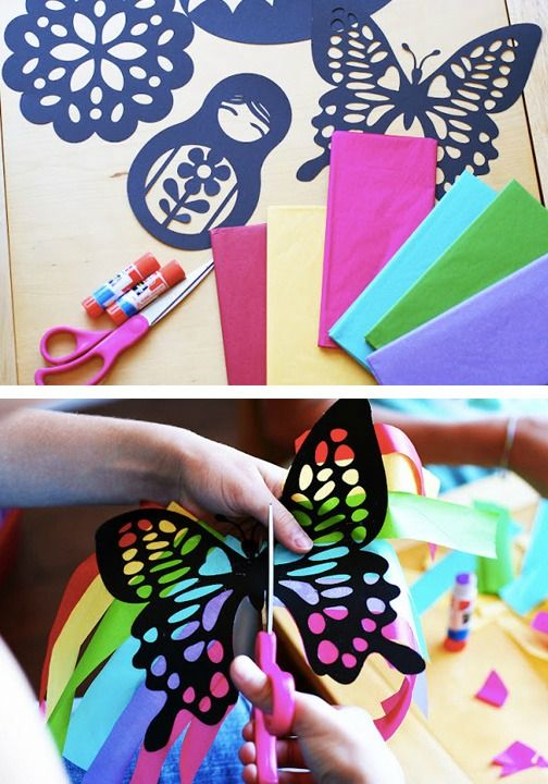 Help your kids create these beautiful DIY suncatchers to put in all your  windows this spring   Fun CraftsArts  119 best Kids spring crafts images on Pinterest   Spring crafts  . Fun Crafts For Your Home. Home Design Ideas
