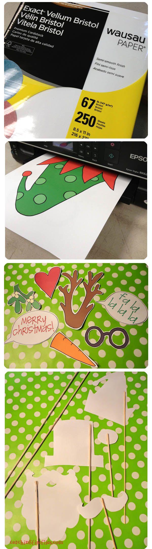 Des photos comiques pour Noël! Patrons gratuits! - Bricolages - Des bricolages géniaux à réaliser avec vos enfants - Trucs et Bricolages - Fallait y penser !