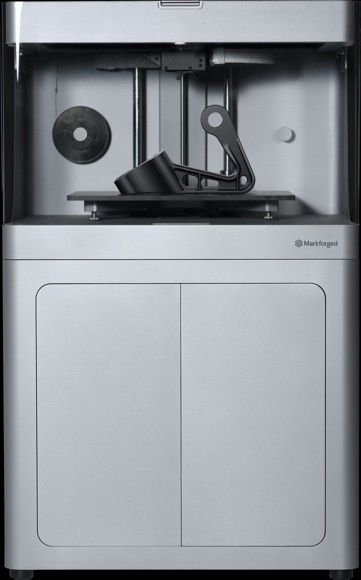 Markforged 3D printers break down the barriers between idea and reality for every designer, engineer and manufacturer. With desktop and cabinet-based models we provide systems in a range of sizes to meet your end-use products, jigs & fixtures, and functional prototype requirements.