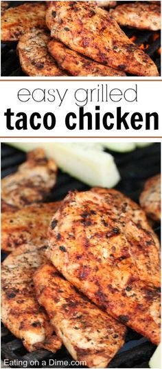 Perfect for Chicken or Pork - you have to try this EASY Taco Chicken Marinade. It tastes amazing!