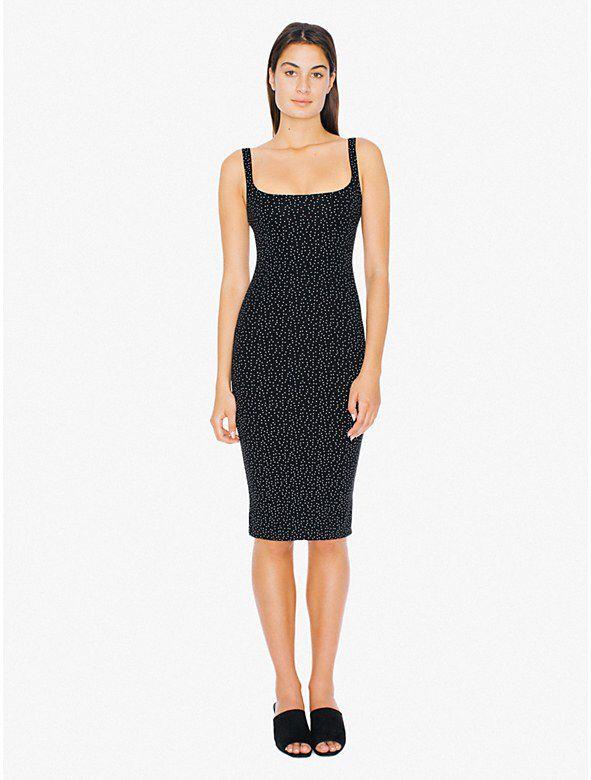 Ponte Tank Midi Dress from American Apparel $60,00