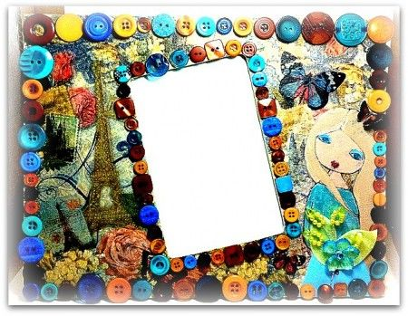 94 best Craft Ideas-Frames images on Pinterest | Home ideas, For the ...