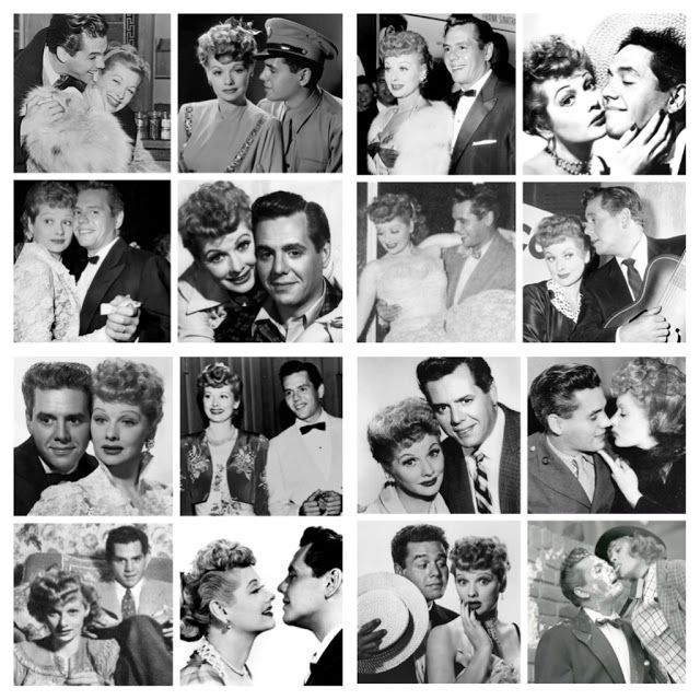 A wonderful montage of Lucille Ball and Desi Arnaz