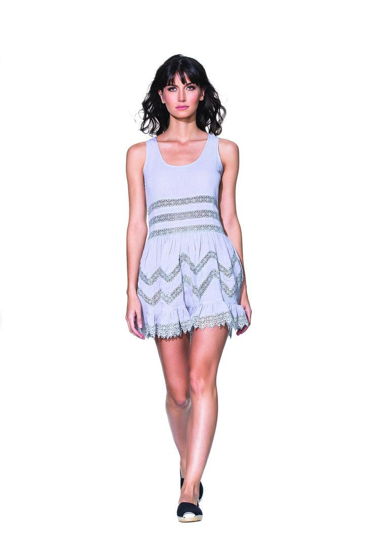 Agua Bendita - B. Pradera Vestido: Intricate embroidery, 100% Silk.
